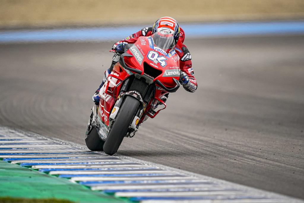 Andrea Dovizioso (04). Photo courtesy of Ducati.