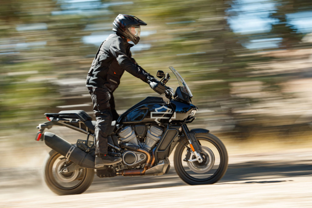 "Harley-Davidson's new ""Pan America"" adventure tourer. Photo courtesy of Harley-Davidson."