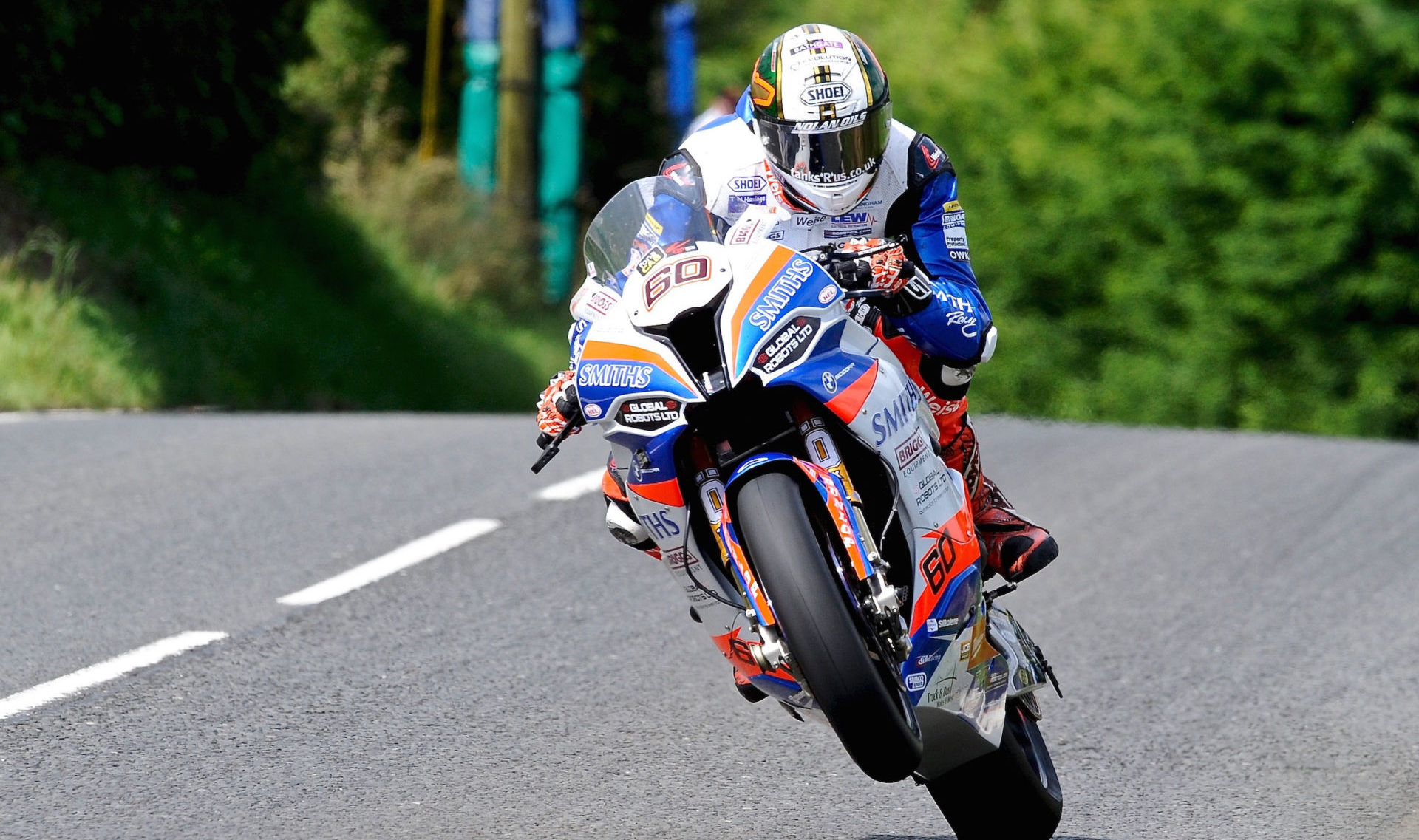 Peter Hickman (60). Photo by Pacemaker Press International, courtesy of the Ulster Grand Prix.