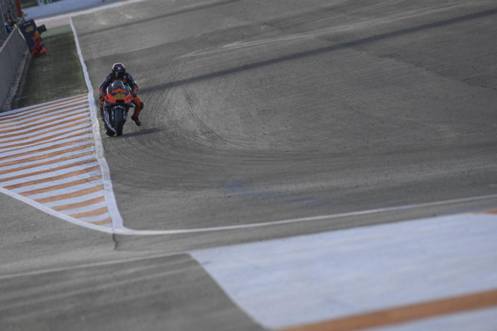 Pol Espargaro (44). Photo courtesy of Dorna/www.motogp.com.