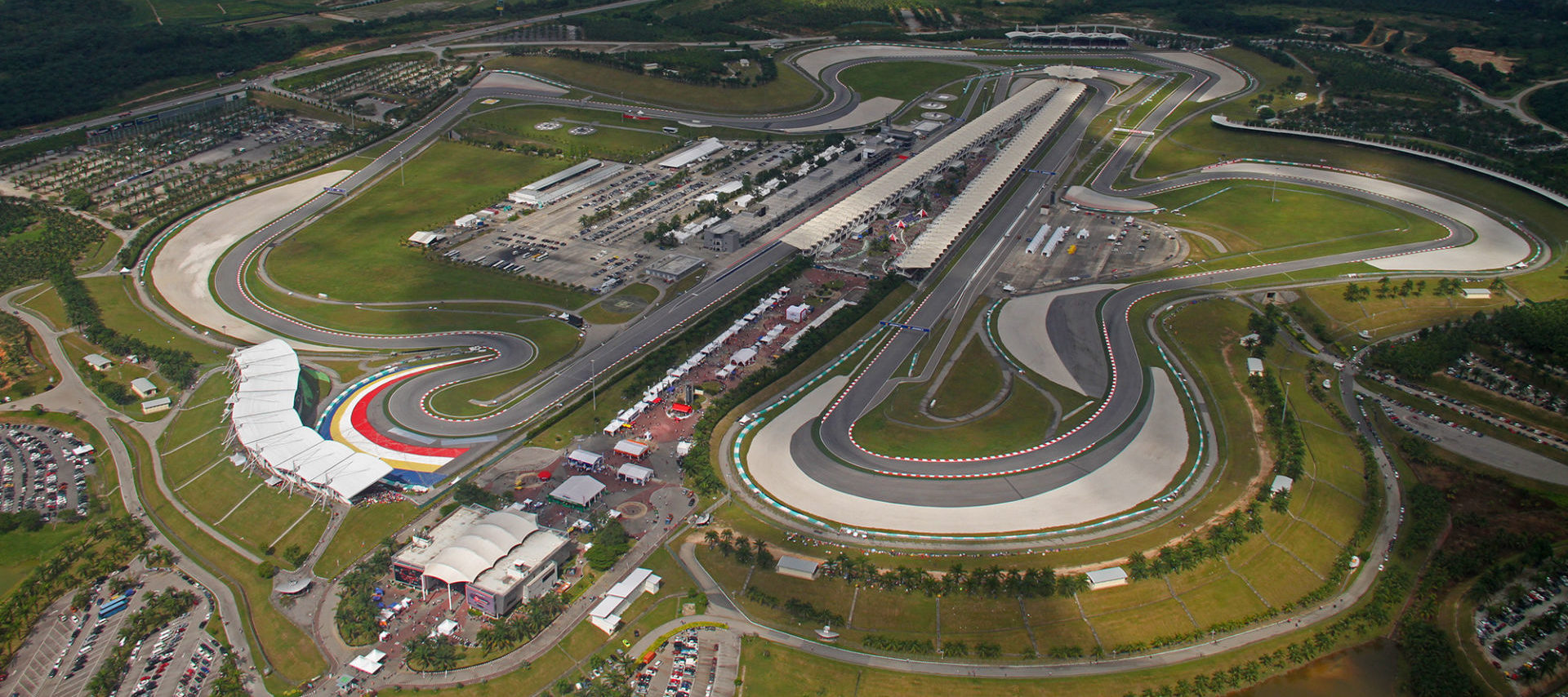 Sepang International Circuit. Photo courtesy of Michelin.