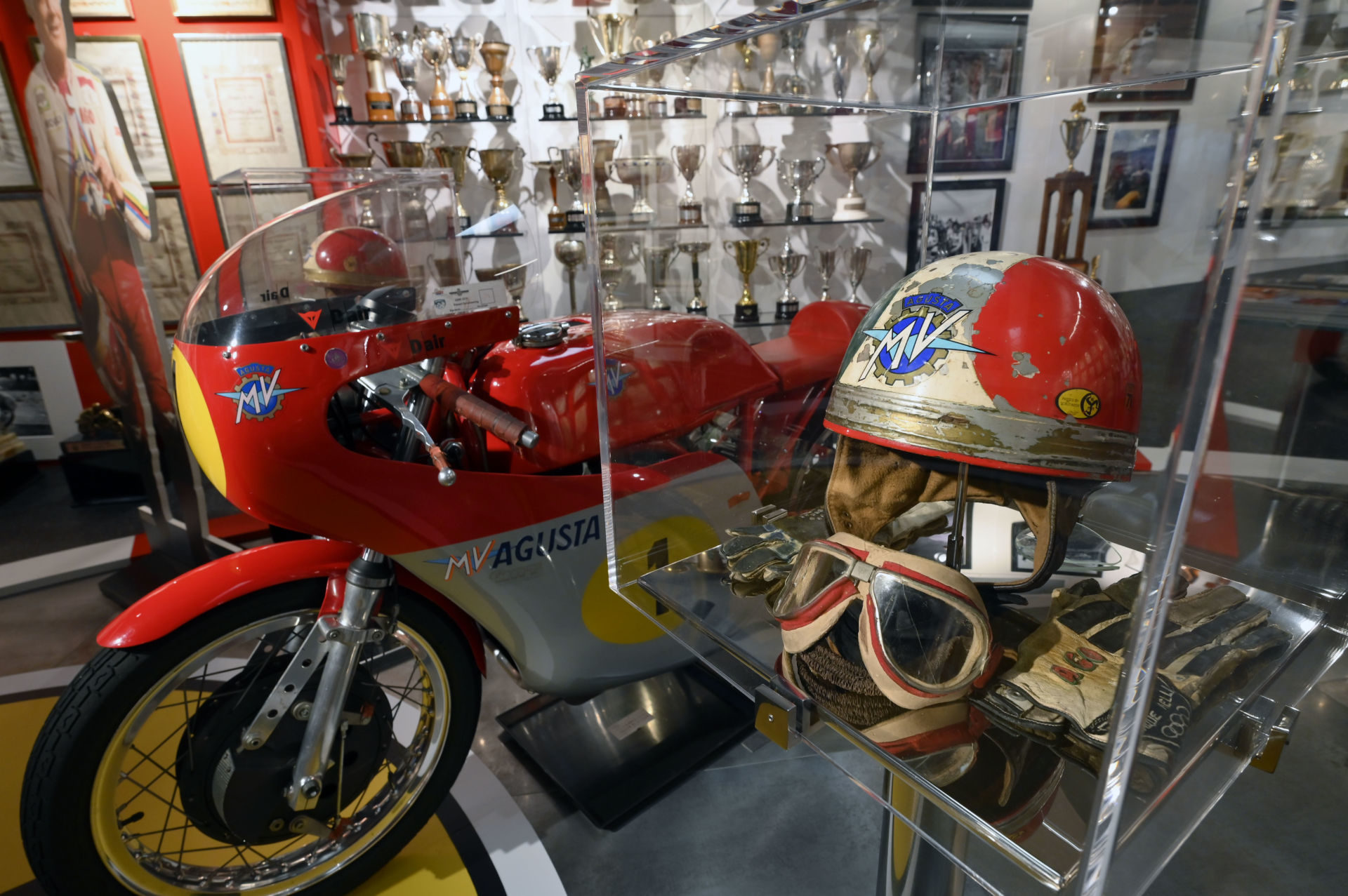 A private museum celebrating the career of Giacomo Agostini is now open by appointment only. Photo courtesy of MV Agusta.
