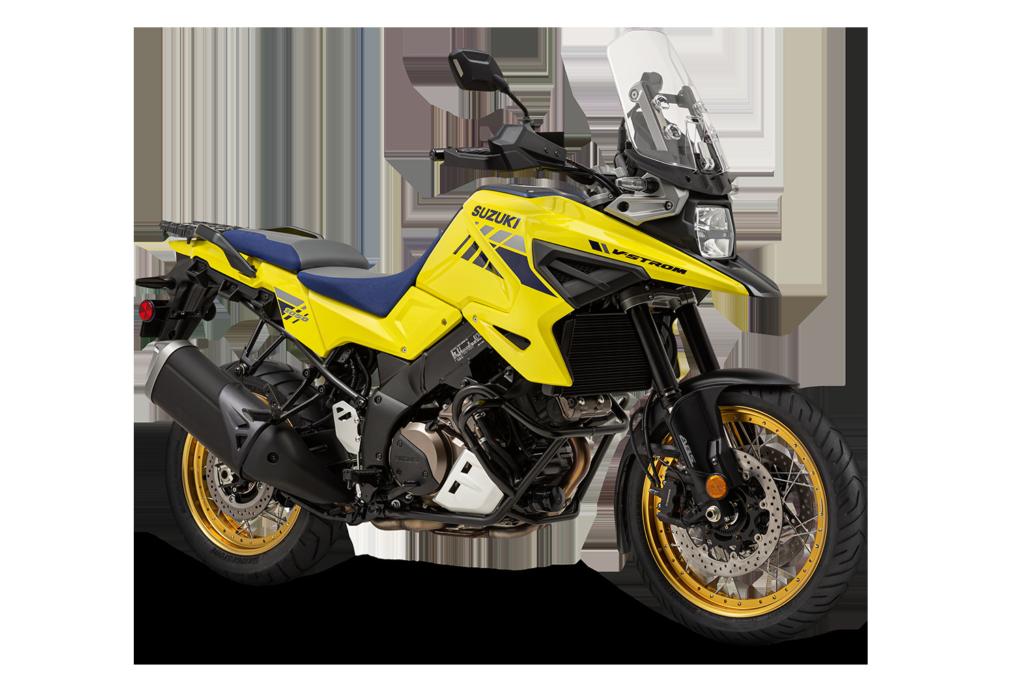A 2020-model Suzuki V-STROM 1050XT. Photo courtesy of Suzuki Motor of America, Inc.