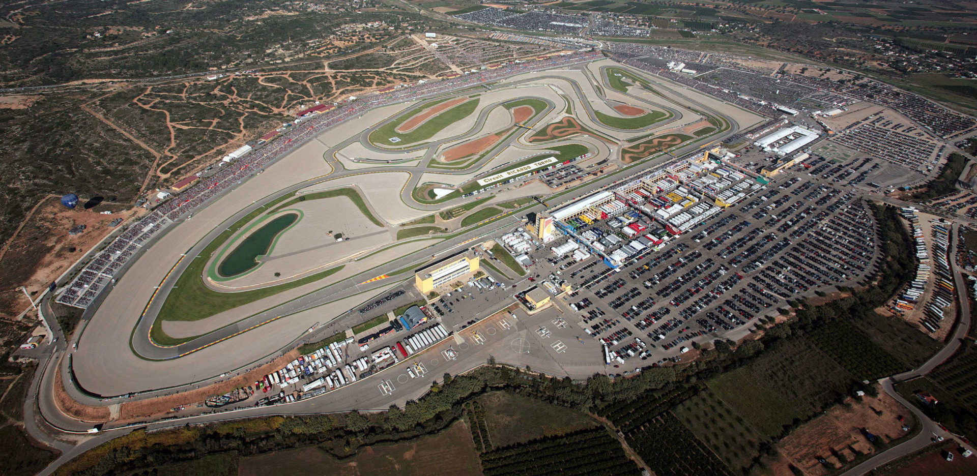 Circuit de la Comunitat Valenciana Ricardo Tormo. Photo courtesy of Michelin.
