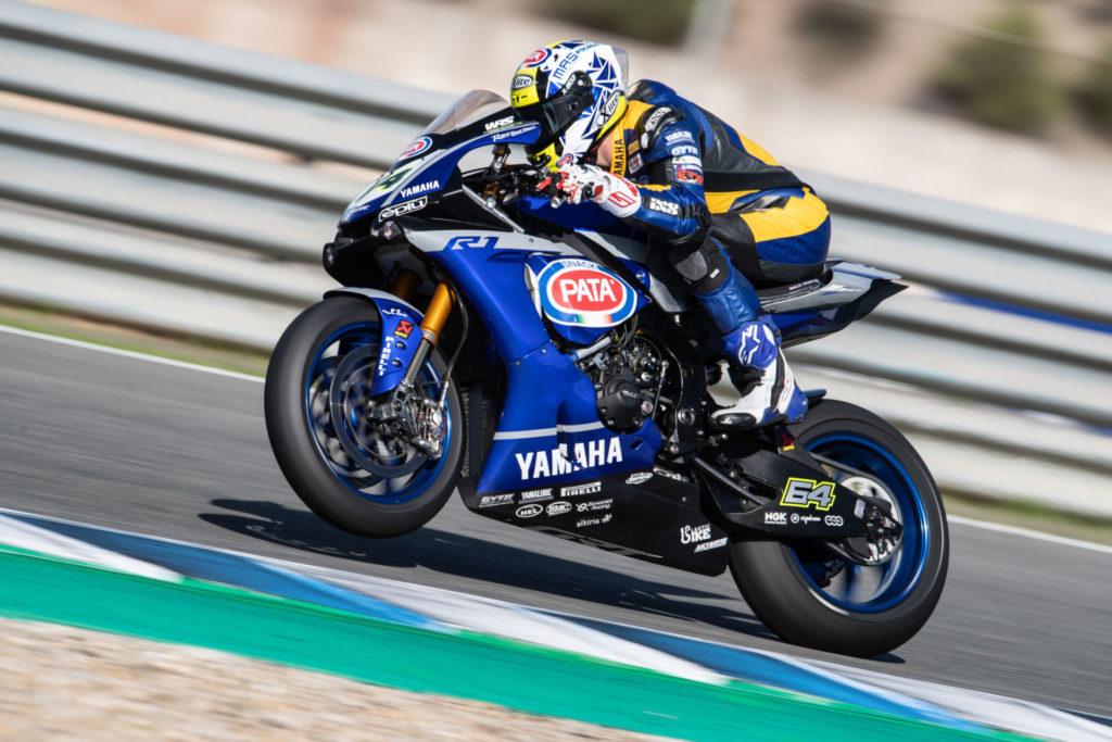 Federico Caricasulo (64). Photo courtesy of Yamaha.