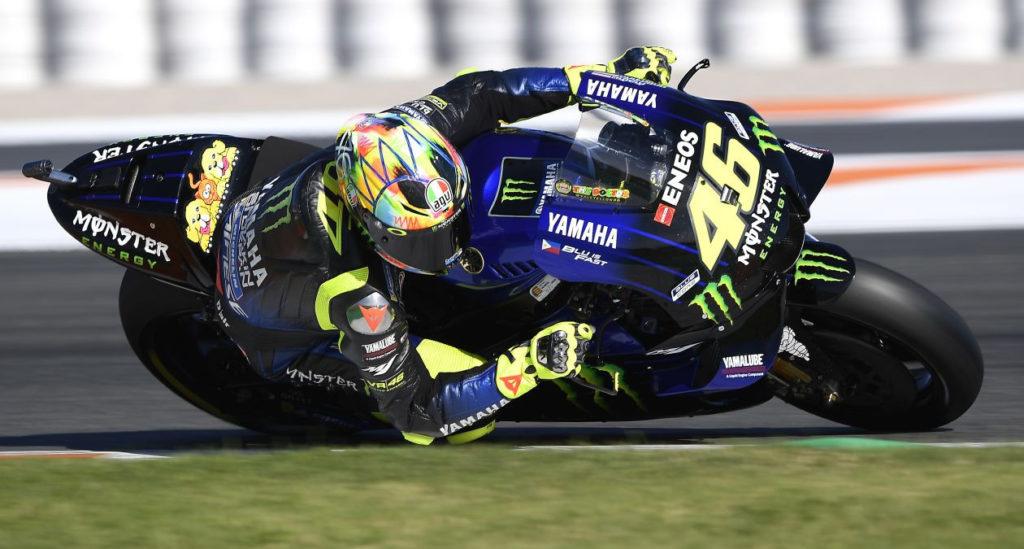 Valentino Rossi (46). Photo courtesy of Monster Energy Yamaha.