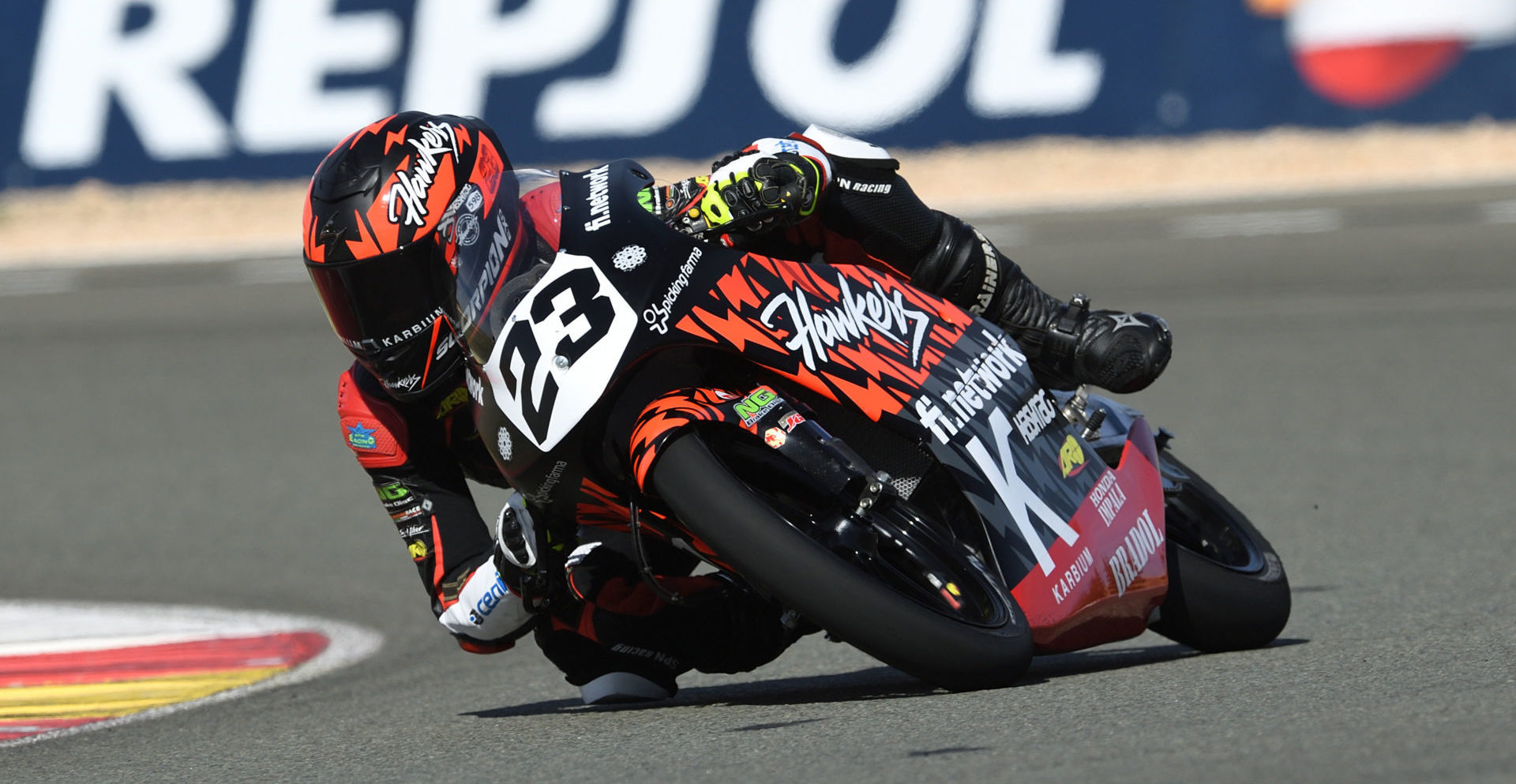 The European Talent Cup will now be known as Hawkers European Talent Cup. Photo courtesy of Dorna.