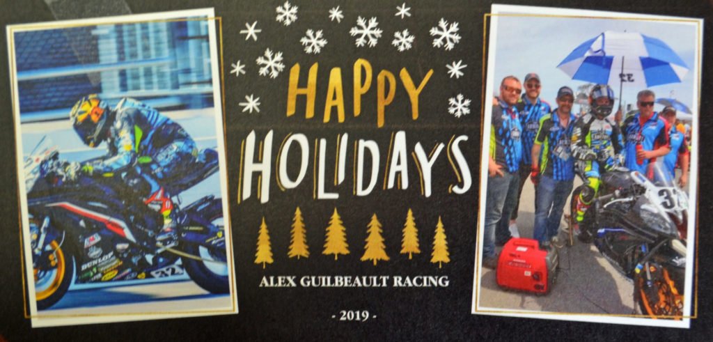From racer Alex Guilbeault