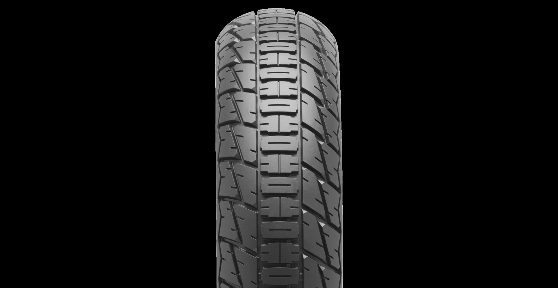 A Dunlop DT4 rear tire. Photo courtesy of Dunlop.