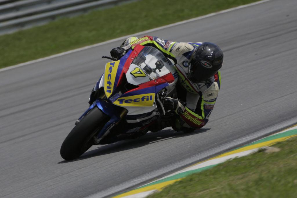 Danilo Lewis (17). Photo courtesy of BMW Motorrad Motorsport.