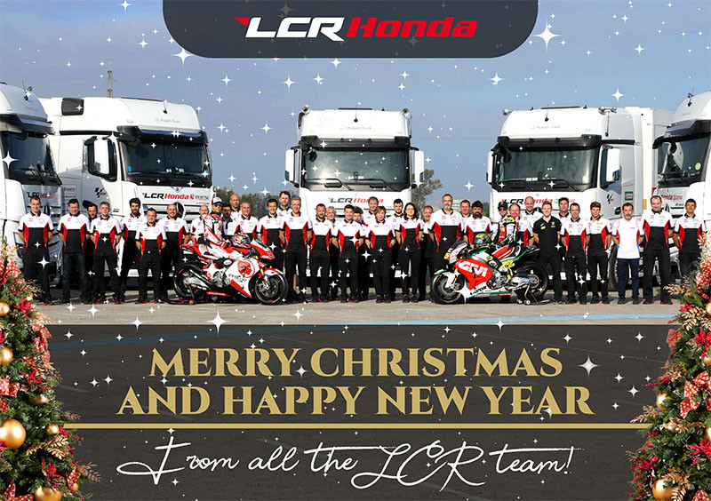 From the LCR MotoGP Team