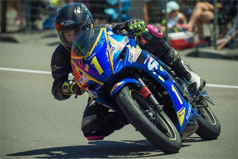 Jesse Stroud (1) Photo by Andy McGechan, courtesy of Team Suzuki Press Office.