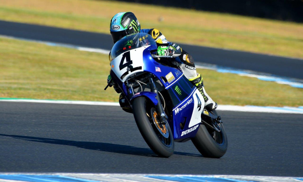 Josh Hayes (4). Photo by Russell Colvin, courtesy of Phillip Island Grand Prix Circuit.