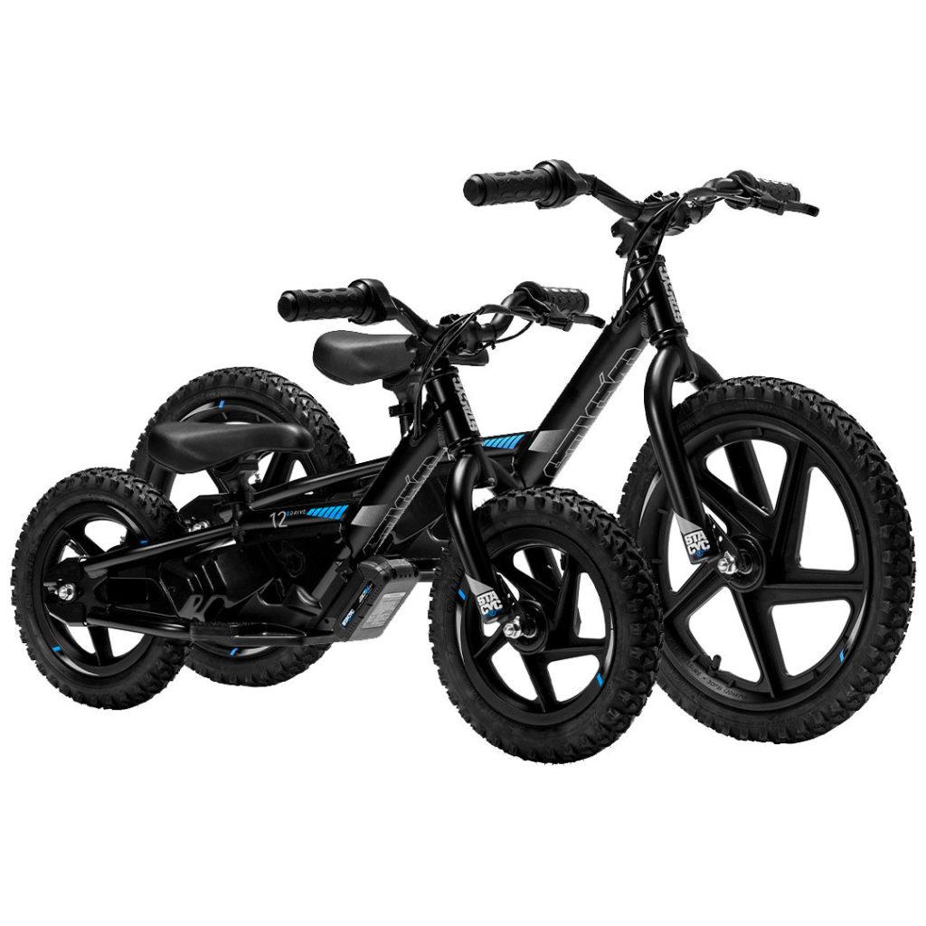 STACYC electric balance bikes. Photo courtesy of STACYC.