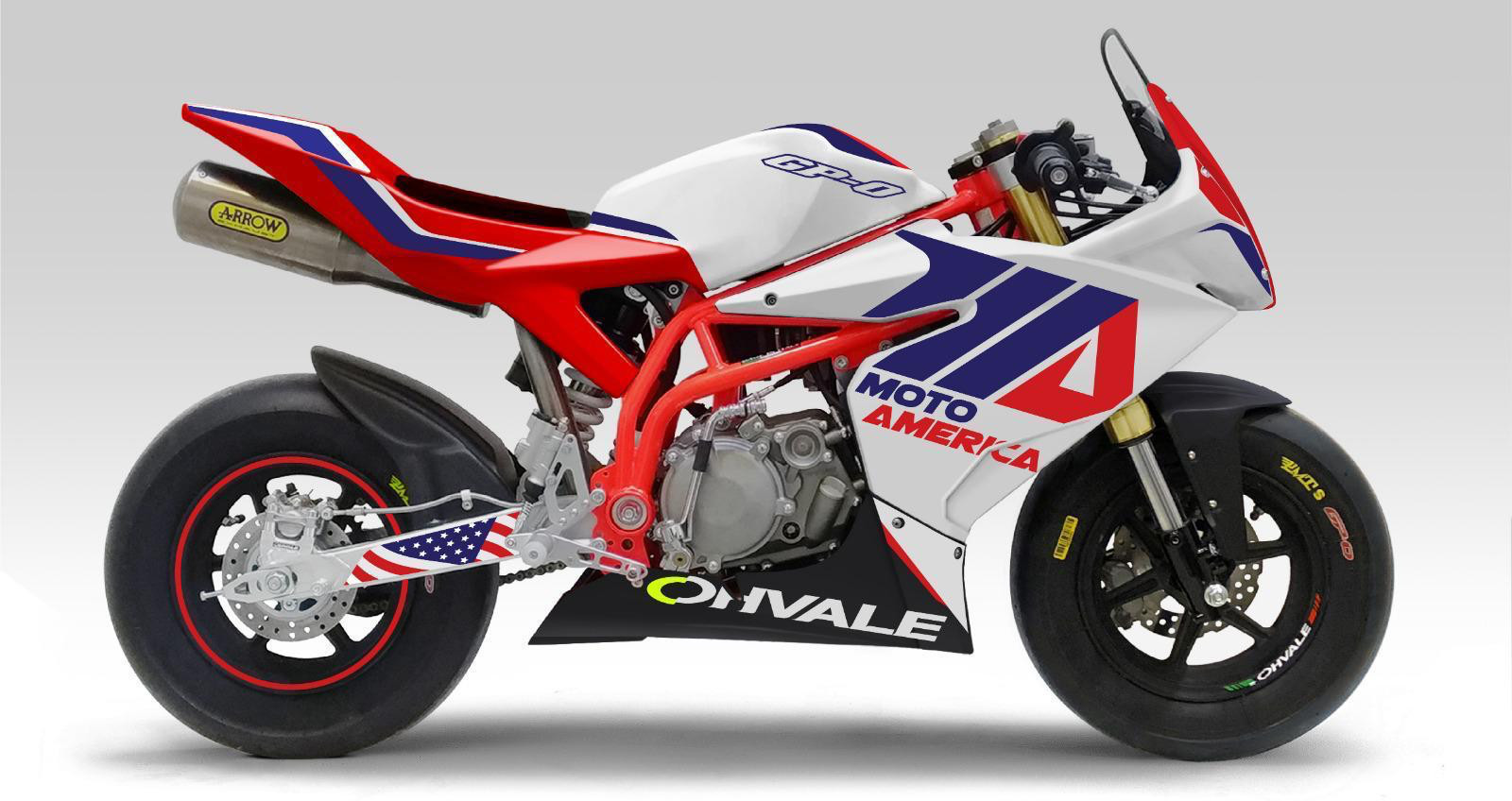 Ohvale has been named as the official motorcycle of the MotoAmerica Mini Cup by Motul. Photo courtesy of MotoAmerica.