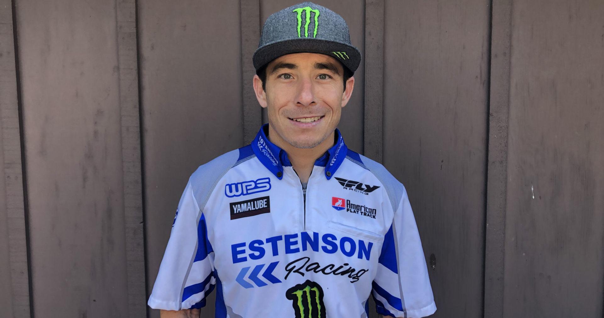Roger Hayden. Photo courtesy of Yamaha Champions Riding School.
