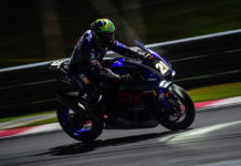 Franco Morbidelli (21) in action on the Yamaha Sepang Racing YZF-R1 during the Top 10 Trial qualifying session at the 8 Hours of Sepang. Photo courtesy of Yamaha.