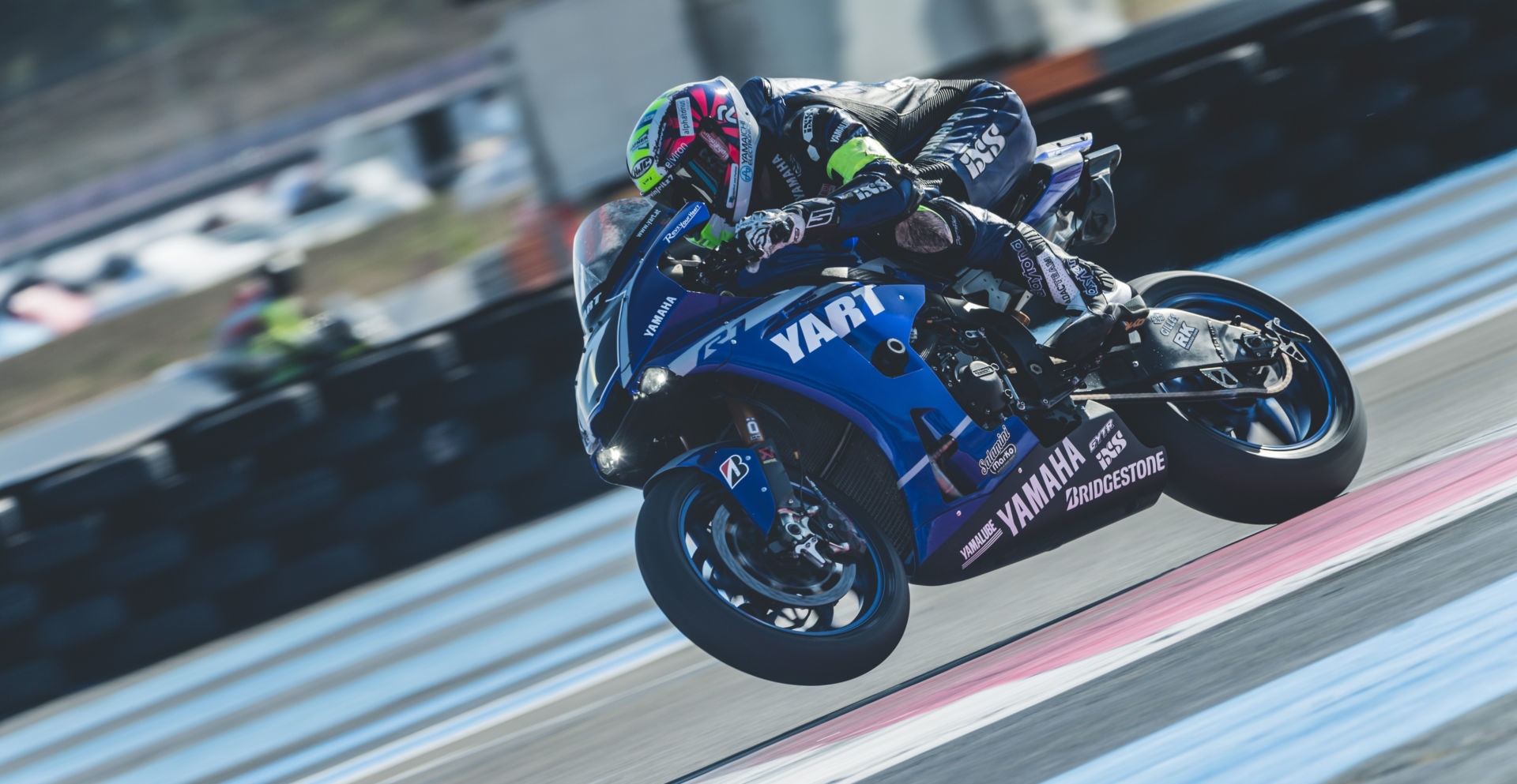 YART Yamaha (7) in action at the Bol d'Or 24-hour race, Round One of the 2019-2020 FIM Endurance World Championship. Photo courtesy of Yamaha.