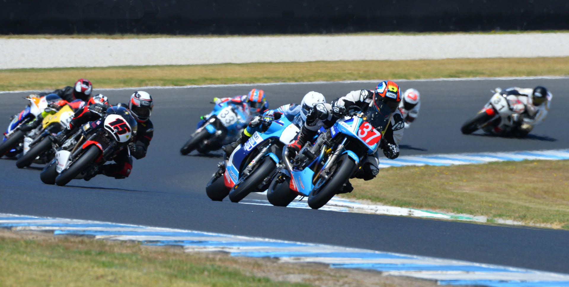 The International Island Classic vintage motorcycle racing event returns to Phillip Island Grand Prix Circuit this coming weekend. Photo by Russell Colvin, courtesy of Phillip Island Grand Prix Circuit.