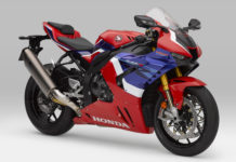 A 2021 Honda CBR1000RR-R Fireblade SP. Photo courtesy of American Honda.