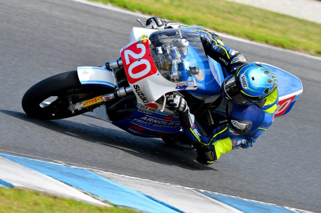 Alex Phillis (20). Photo by Russell Colvin, courtesy of Phillip Island.
