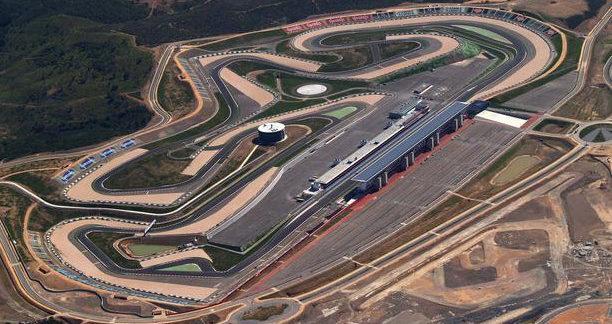 Autodromo do Internacional Algarve, in Portimao, Portugal. Photo courtesy of Dorna WorldSBK Press Office.