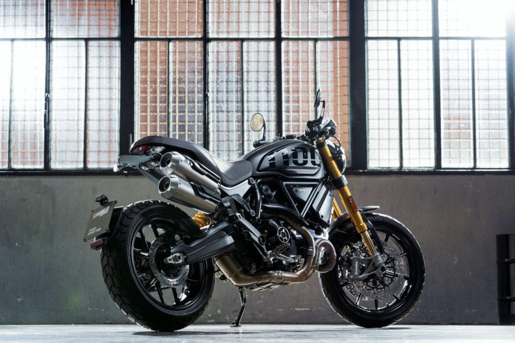 A Ducati Scrambler 1100 Sport PRO. Photo courtesy of Ducati.