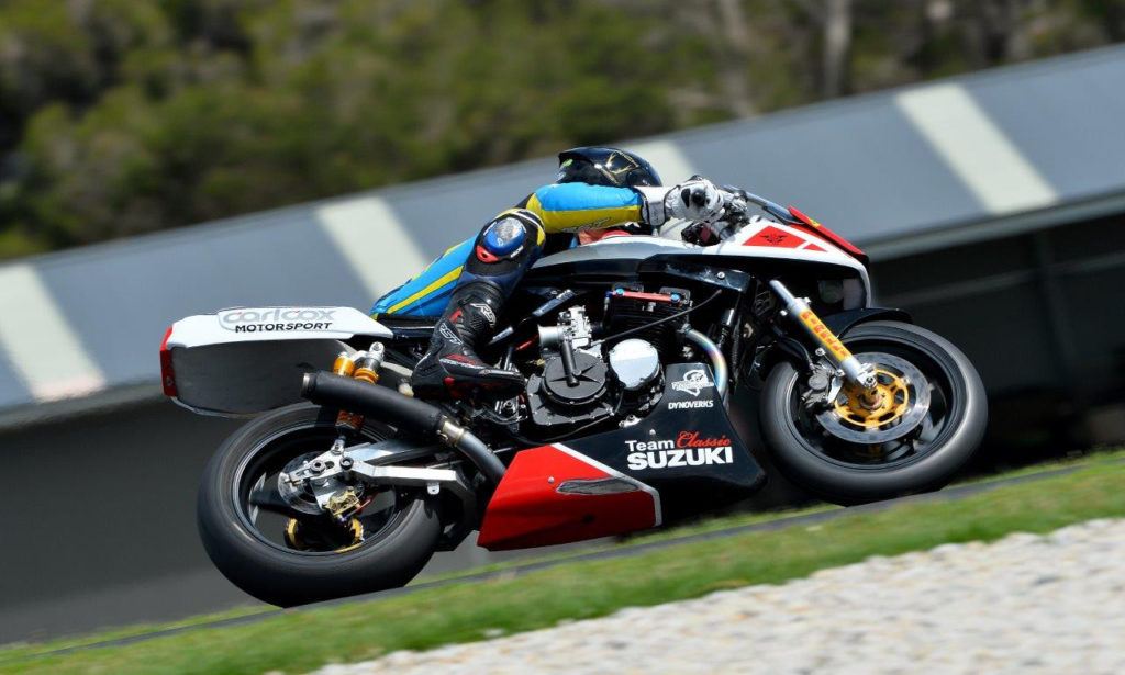 Dave Johnson. Photo by Russell Colvin, courtesy of Phillip Island.