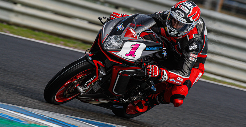 Randy Krummenacher (1). Photo courtesy of Dorna WorldSBK Press Office.