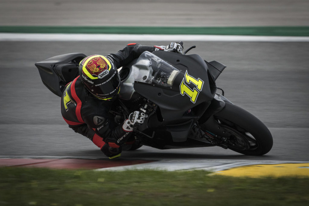 Sandro Cortese (11). Photo courtesy of Barni Racing Team.