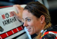 Melissa Paris. Photo by Russell Colvin, courtesy of Phillip Island Grand Prix Circuit.