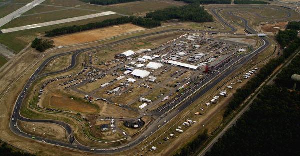 Thunderbolt Raceway at New Jersey Motorsports Park. Photo courtesy of NJMP.