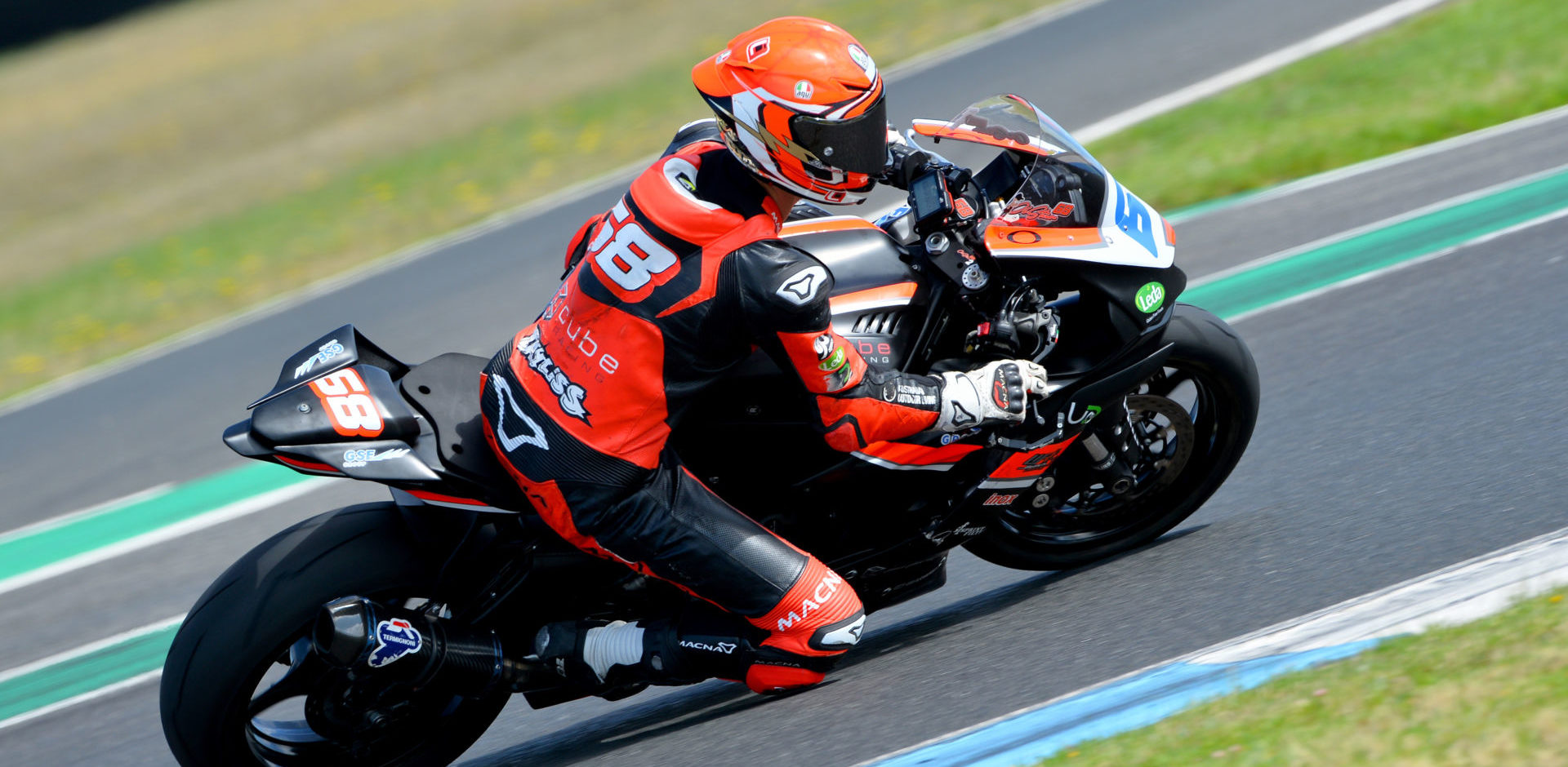 Oli Bayliss (68), son of three-time Superbike World Champion, Troy Bayliss. Photo by Russell Colvin, courtesy of Motorcycling Australia.