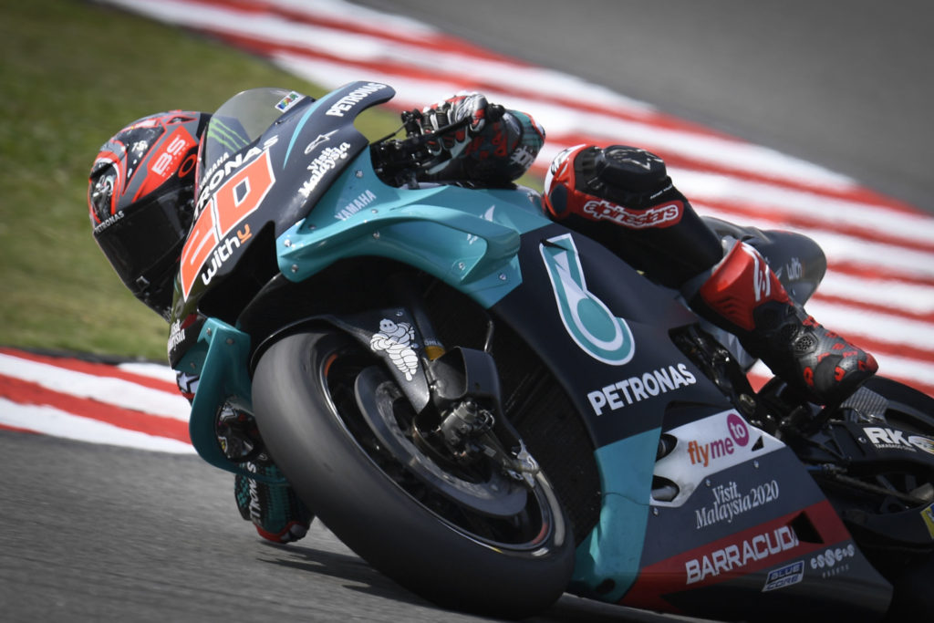 Fabio Quartararo (20). Photo courtesy of Dorna.