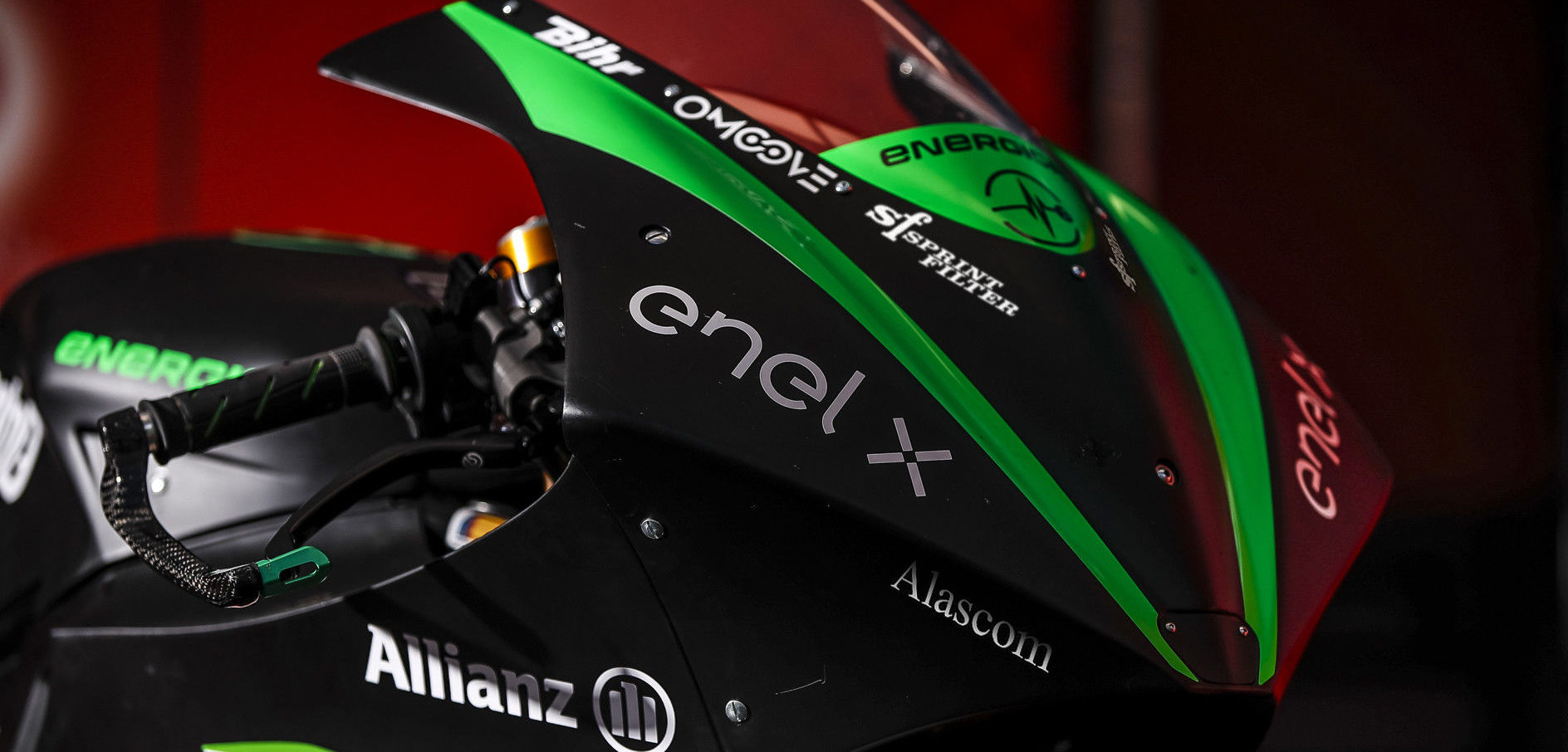 Sprint Filter has signed on as a racing technical partner of Energica Motor Company for the 2020 MotoE World Cup. Photo courtesy of Energica.