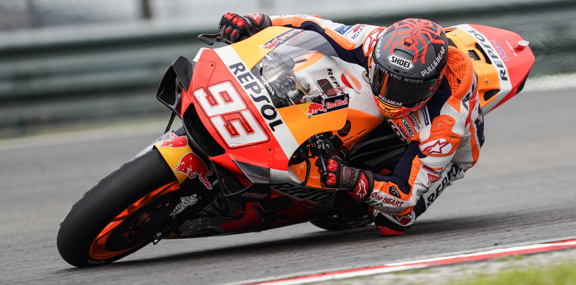 Motogp Marc Marquez Extends Contract With Honda Through 2024 Roadracing World Magazine Motorcycle Riding Racing Tech News