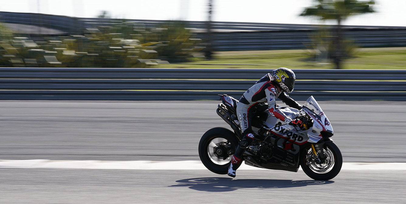 Tommy Bridewell. Photo courtesy of MotorSport Vision Racing.