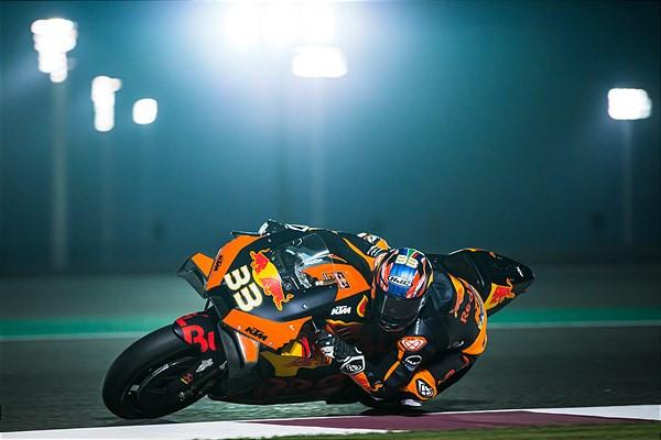 Brad Binder (33). Photo courtesy of Red Bull KTM.