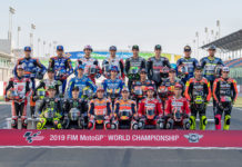 The 2019 FIM MotoGP World Championship field. Photo courtesy of Dorna.