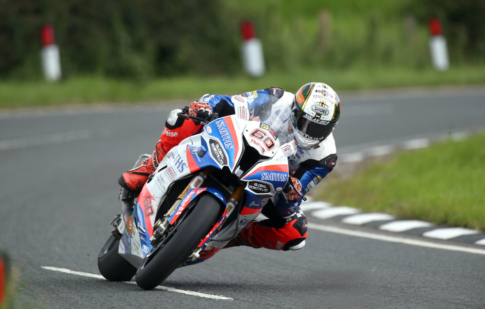 Peter Hickman (60) in action during the 2019 Ulster Grand Prix. Photo by Pacemaker Press International, courtesy of UGP Press Office.