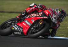 Scott Redding (45). Photo courtesy of Aruba.it Racing Ducati.