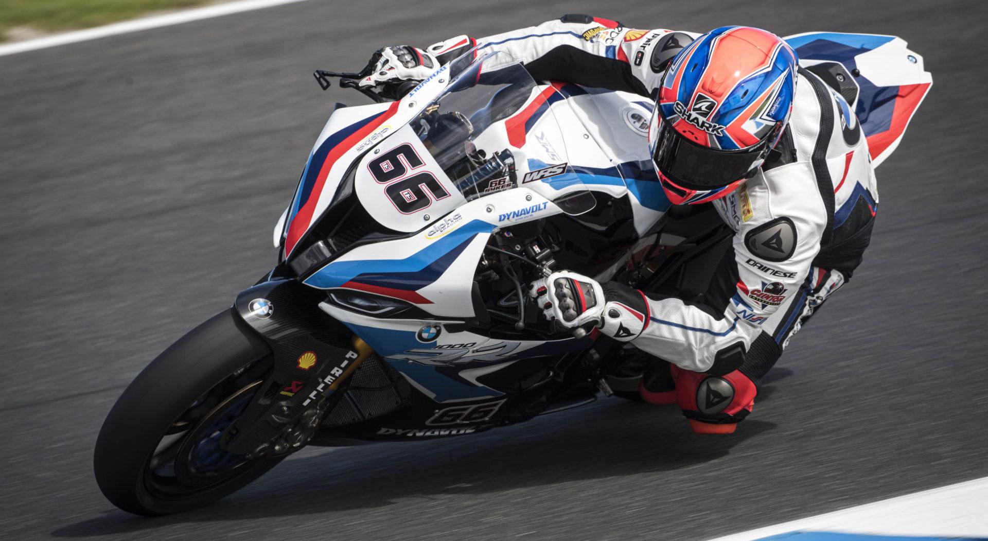Tom Sykes (66). Photo courtesy of BMW Motorrad Motorsport.