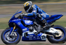 Daniel Falzon (25). Photo by Russell Colvin, courtesy of Motorcycle Australia.