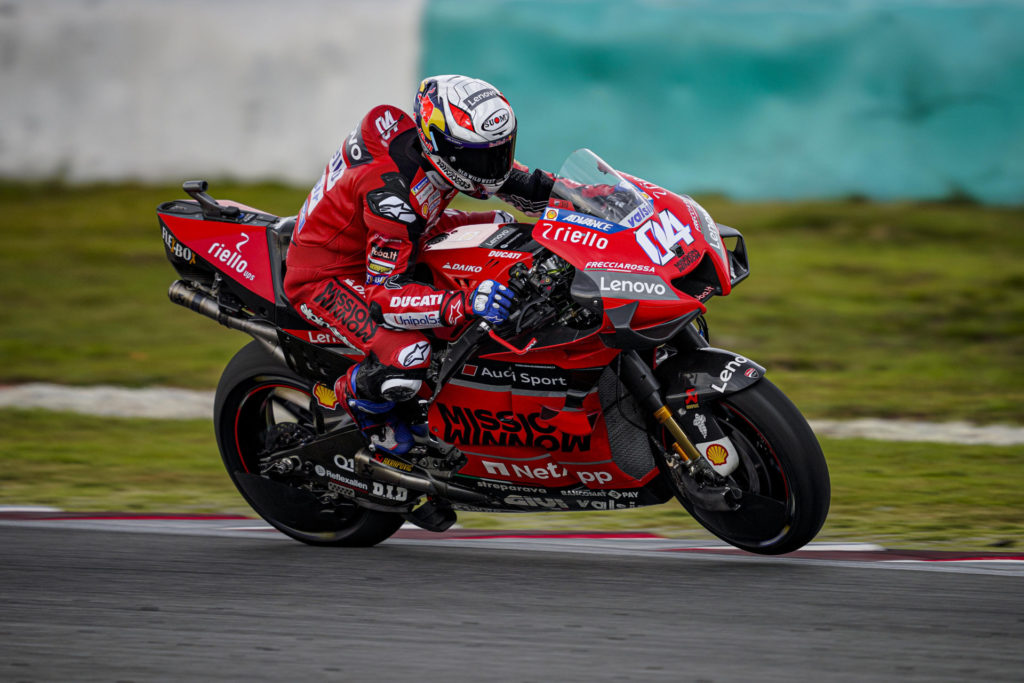 Andrea Dovizioso (04). Photo courtesy of Ducati.