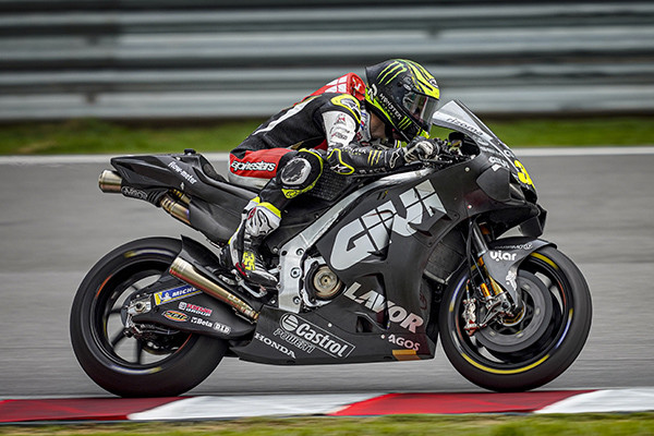Cal Crutchlow (35). Photo courtesy of LCR Honda Castrol.