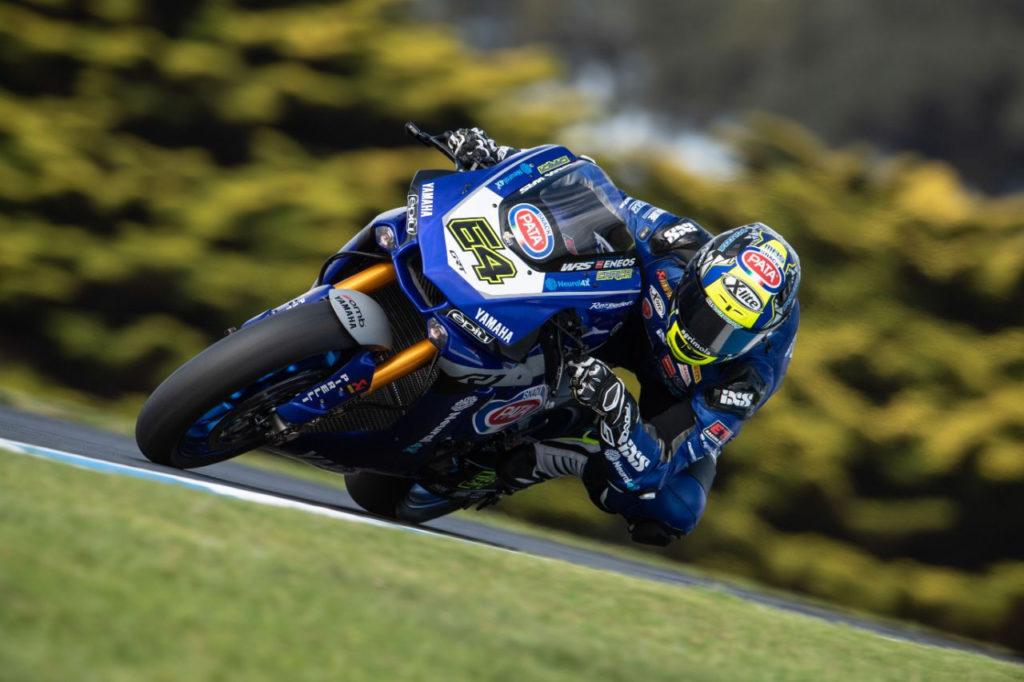 Federico Caricasulo (64). Photo courtesy of GRT Yamaha.