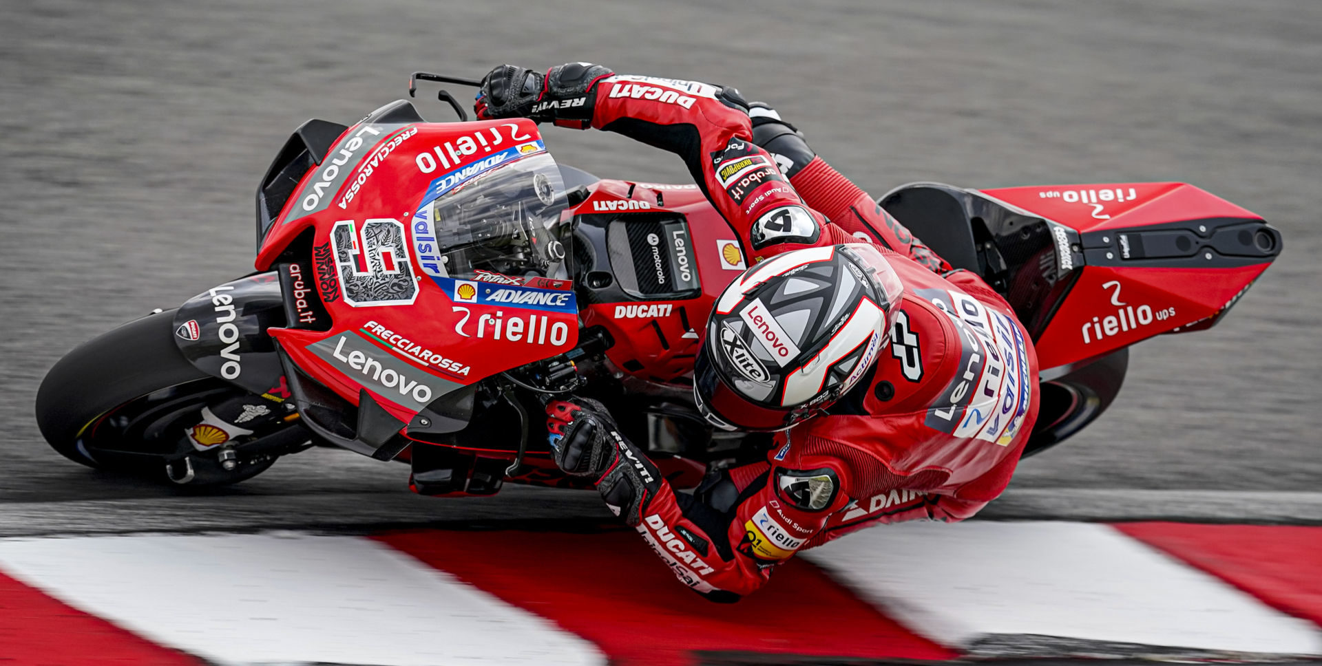Danilo Petrucci (9). Photo courtesy of Ducati.