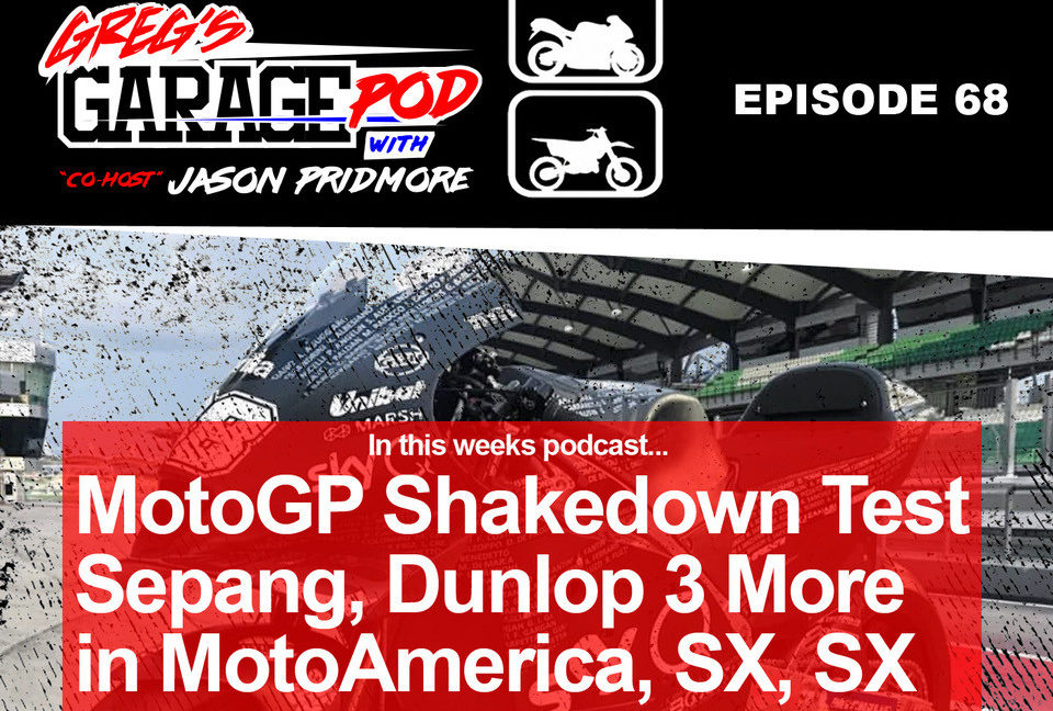 A 2020-spec Aprilia RS-GP MotoGP racebike at Sepang. Image courtesy of Greg's Garage Pod.