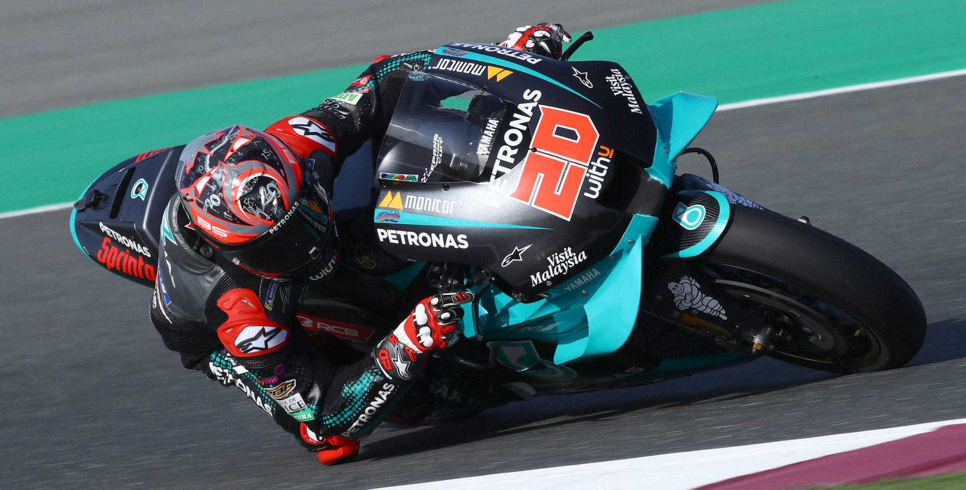 Fabio Quartararo (20). Photo courtesy of PETRONAS Yamaha SRT.