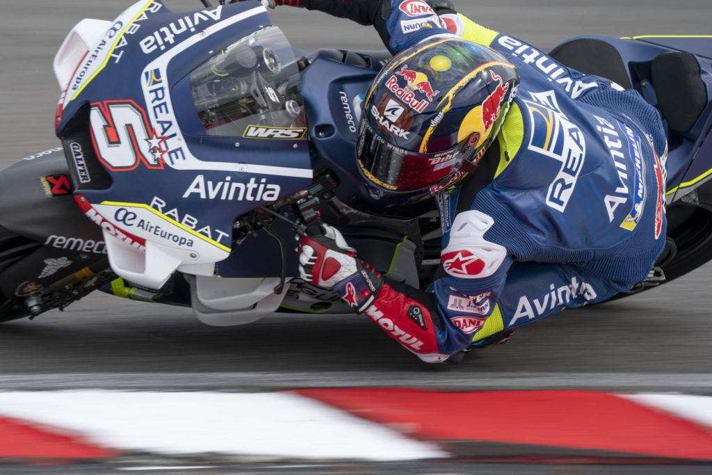Johann Zarco (5). Photo courtesy of Avintia Racing.